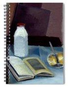 Alla Prima Still Life Study 1977 Spiral Notebook