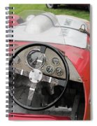 Allard J2 Racer. Spiral Notebook