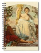 Allegory Of Agriculture Spiral Notebook