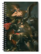 Allegory Of Fortune Spiral Notebook