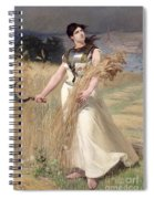 Allegory Of France Spiral Notebook