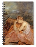 Allegory Of War Spiral Notebook