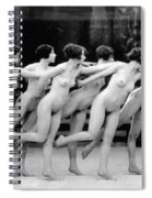 Allen Chorus Line, 1920 - To License For Professional Use Visit Granger.com Spiral Notebook