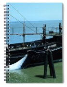 Allen Cody Of The Del Monte Fishing Co. And A Fin Whale 1967 Spiral Notebook
