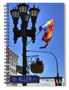 Allen Pride Spiral Notebook