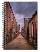 Alley A At Dawn Spiral Notebook
