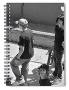Alley Cats Spiral Notebook