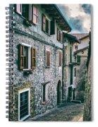 Alley In An Alpine Village #1 Spiral Notebook