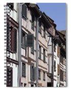 Alley In La Petite France Spiral Notebook