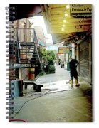 Alley Market End Of Day Spiral Notebook