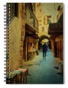 Alley Of Old Sidon Spiral Notebook