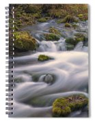Alley Spring Rapids Fall Mo Dsc09212 Spiral Notebook