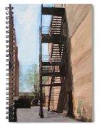 Alley W Fire Escape Spiral Notebook