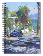 Alleyway By Lida's House Greece Spiral Notebook