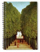 Alleyway In The Park Spiral Notebook