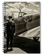 Allied Pilots Taking Stock Spiral Notebook