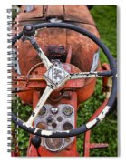 Allis Chalmers As You Sit Spiral Notebook