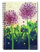 Allium Explosion Spiral Notebook