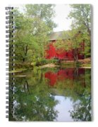 Allsy Sprng Mill Spiral Notebook