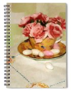 Almond Blossom Tea Spiral Notebook