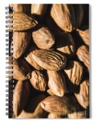 Almond Nuts Spiral Notebook