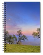 Almonds And Moon Spiral Notebook