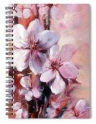 Almonds Blossom  12 Spiral Notebook