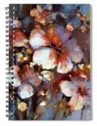 Almonds Blossom  3 Spiral Notebook