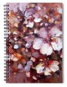 Almonds Blossom  7 Spiral Notebook