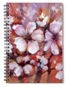 Almonds Blossom  8 Spiral Notebook