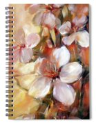 Almonds Blossom  9 Spiral Notebook