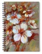 Almonds Blossom1 Spiral Notebook