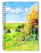 Almost Autumn Spiral Notebook