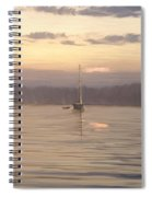 Almost Daytime On The Waters Spiral Notebook