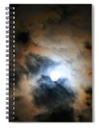Almost Full Moon 2 Spiral Notebook