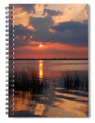 Almost Sunset In Florida Spiral Notebook