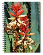 Aloe Bloom Desert Garden Spiral Notebook