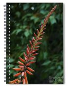 Aloe Flower Spiral Notebook