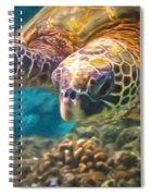 Aloha Honu Spiral Notebook