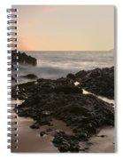 Aloha Paako Akahi Sunset Makena Maui Hawaii  Spiral Notebook