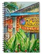 Alohaman Spiral Notebook