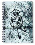 Alone Spiral Notebook