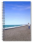 Alone And At Peace Spiral Notebook