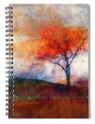 Alone In Colour Spiral Notebook
