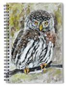 Alone In The Night Spiral Notebook