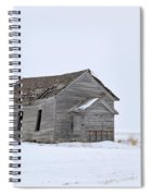 Alone In The Snow Spiral Notebook
