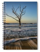Alone In The Water Spiral Notebook