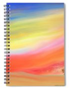 Alone With The Sunset Spiral Notebook