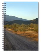 Along A Country Road Spiral Notebook