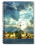 Along The North Shore - Ma Spiral Notebook